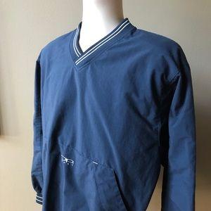 OP Sport (M) Blue Pullover Jacket